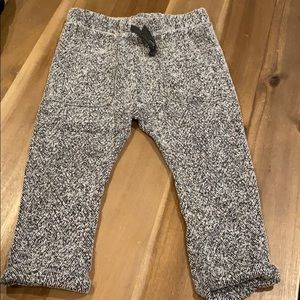 Cozy ZARA herringbone pants